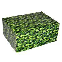 """Подарочная коробка  """"камуфляж""""  22*16*10 см_0"""